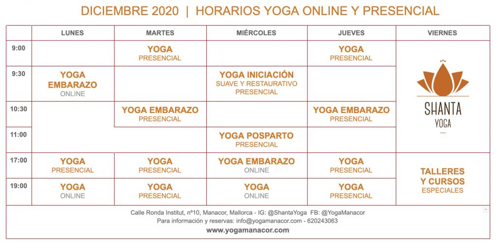 yoga diciembre mallorca