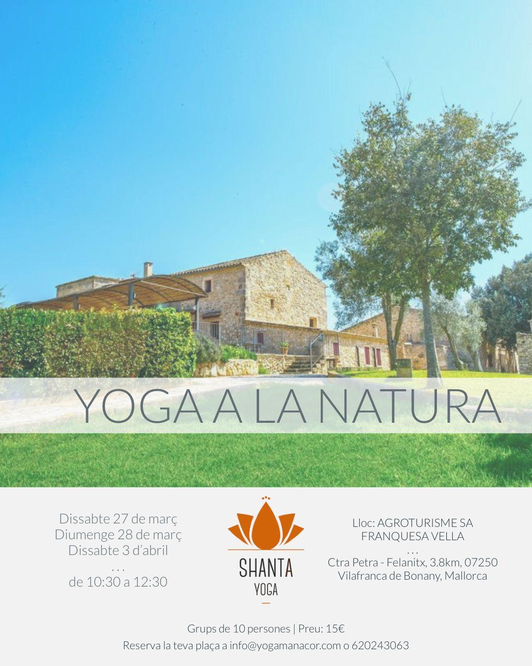 yoga manacor aire libre